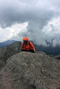 Rock Climbing Photo: Head in the clouds on Pico de Fraile
