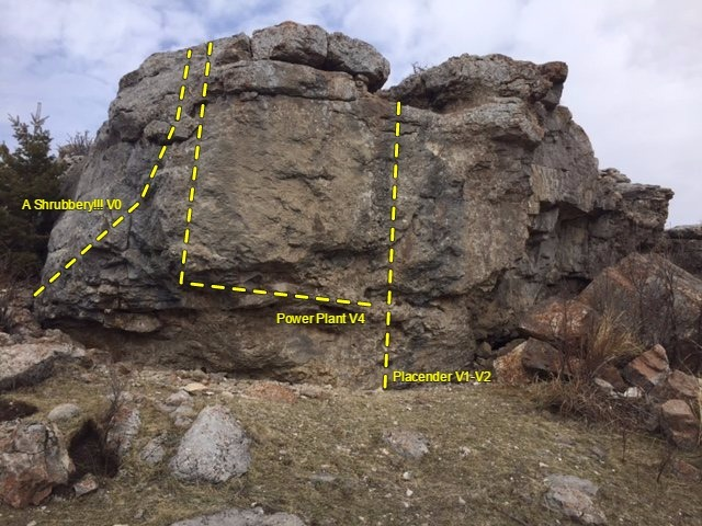 Power plant boulder