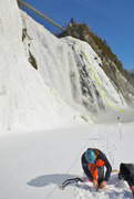 Rock Climbing Photo: La Dame Blanche WI3-4 X
