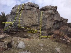 Rock Climbing Photo: Power Plant Boulder