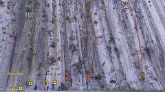 Rock Climbing Photo: Routes on La Extrema
