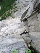 Rock Climbing Photo: Natalie Brechtel on P17 of La Presencia de mi Padr...