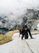Rock Climbing Photo: Natalie Brechtel on P26 of La Presencia de mi Padr...