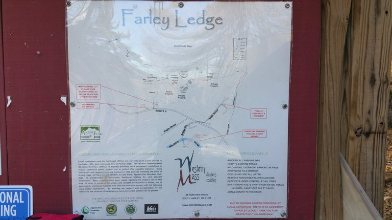 Farley Ledge map #1.
