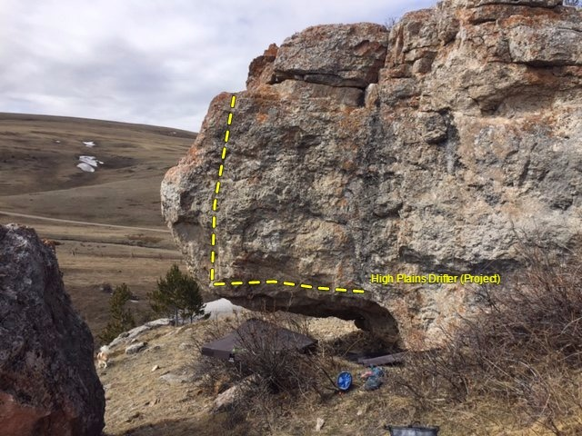 High plains Drifter, Open project