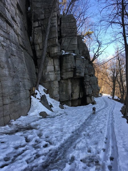 Rock Climbing Photo: March 21, 2017 Uberfall