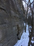 Rock Climbing Photo: March 21,2017 Frogs Head Wall