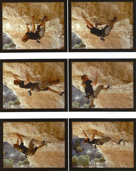 Another sequence of Kevin Wilkinson working Frantic.