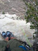 Rock Climbing Photo: Top of Leggo my eggo