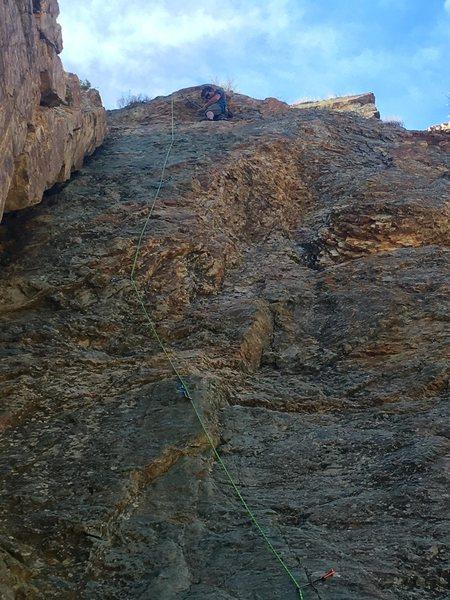 Rock Climbing Photo: Sixy and I know it