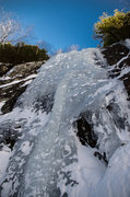 Rock Climbing Photo: Zamboni smooth - with 4' of snow on the pond w...