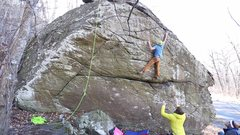 "Rock Climbing Photo: Taking down the FA of ""What could have been&q..."