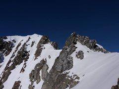 Rock Climbing Photo: final crest