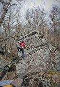 "Rock Climbing Photo: Tyler Hoskinson on ""Follow The Rain"""