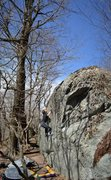 """Rock Climbing Photo: Tyler Hoskinson on """"Underking"""""""