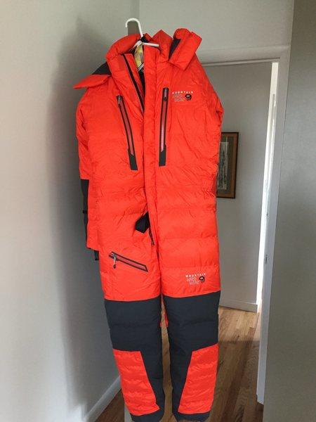 Rock Climbing Photo: Brand New Down Suit