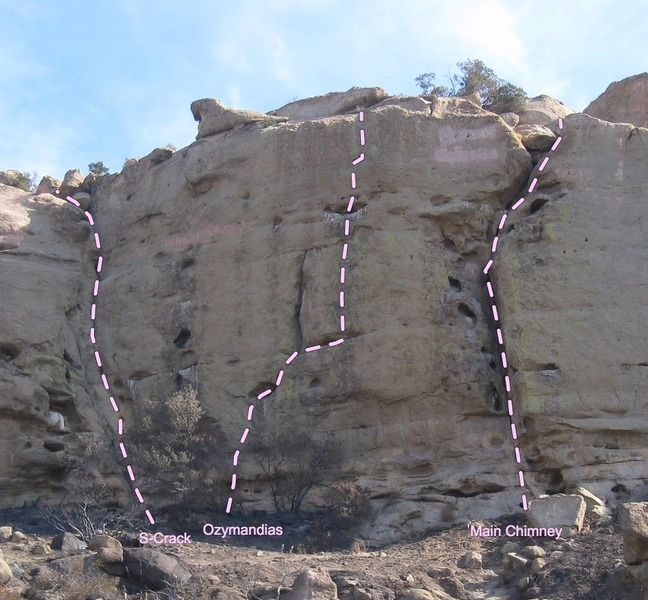 Rock Climbing Photo: Main Wall - Stoney Point
