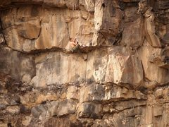 Rock Climbing Photo: Mantle finish