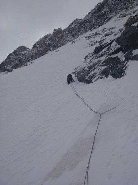 Rock Climbing Photo: First pro.