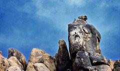 Rock Climbing Photo: Savannah on her second lead