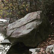 Rock Climbing Photo: This is the main  boulder yet it does not yet have...