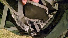 Shoulder-strap seam repair