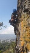 Rock Climbing Photo: Luis Amezquita on Morena.