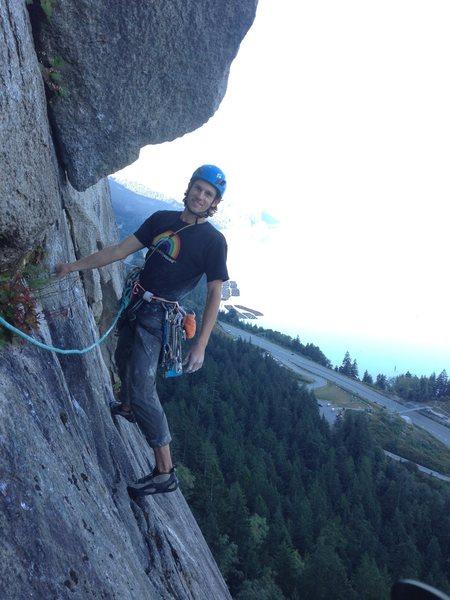 Rock Climbing Photo: Grand wall, Squamish.