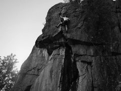 Rock Climbing Photo: Great route for learning how to get through a roof...