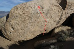 Rock Climbing Photo: The landing and the line.