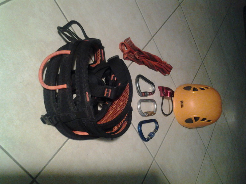 2nd part of my climbing kit