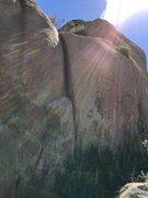 Rock Climbing Photo: T Crack 5.6