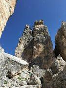 Rock Climbing Photo: Chimney Route