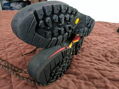Rock Climbing Photo: Trango Cube boots, size 45.5