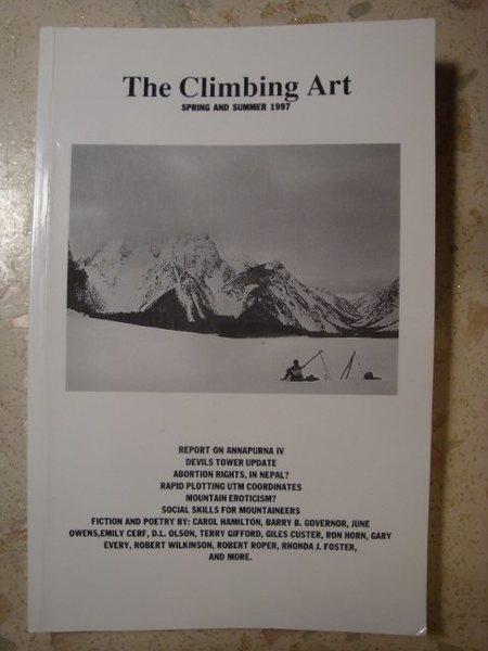 Rock Climbing Photo: The Climbing Art