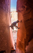 Rock Climbing Photo: This is where the pump starts to grow, but falls a...