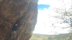 Rock Climbing Photo: Plugging cams on Tombstone!