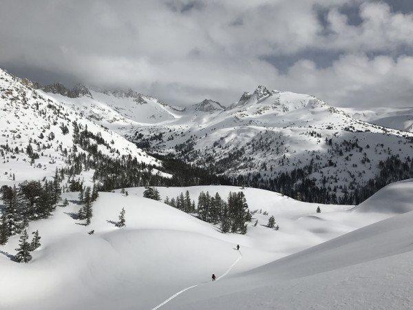 Mule Pass YNP 3/17. Credit Ryan Kelley.