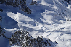Rock Climbing Photo: Drifts to 30'++ at ~11,000 feet