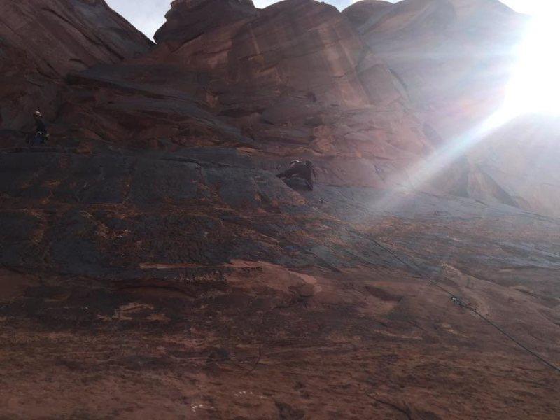 Rock Climbing Photo: cruising up parlor game