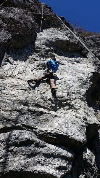 Rock Climbing Photo: TC