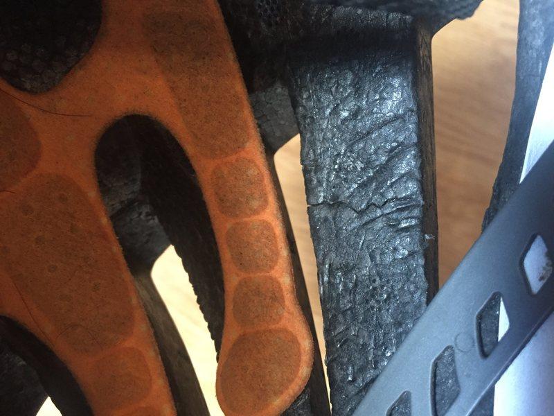 Meteor Helmet @POUND@4, small crack