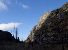 Rock Climbing Photo: Early spring in the Main Canyon.