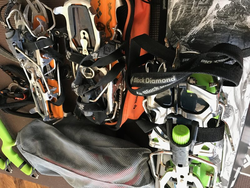 Rock Climbing Photo: Crampons