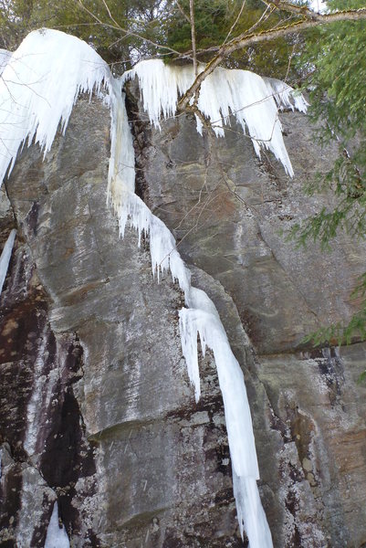 Rock Climbing Photo: La rampe 2017-03-25