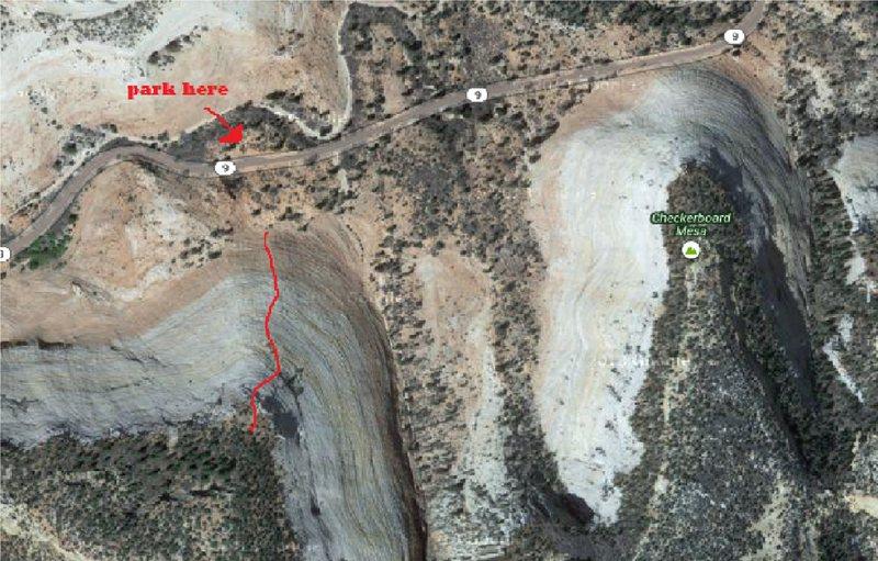 Rock Climbing Photo: Google Earth Topo