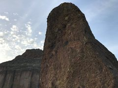 Rock Climbing Photo: Optional P7 to Middle Tower, I think I spotted a b...
