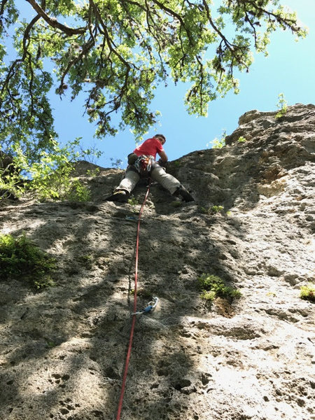 """Rock Climbing Photo: On """"Hack in the Fast Lane"""""""