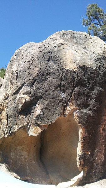 Rock Climbing Photo: Small Cave boulder