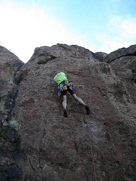 Rock Climbing Photo: Day of the Jackel FA